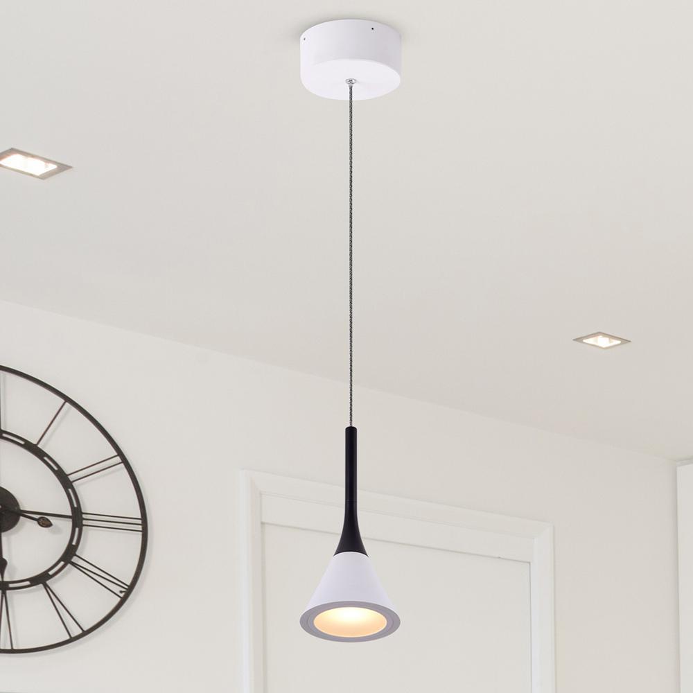 Polaris VMP24710WH 7-Watt White Integrated LED Pendant