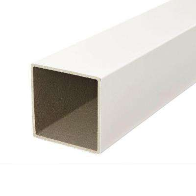 Regency/Enclave 4 in. x 4 in. x 48 in. White Capped Composite Post Sleeve