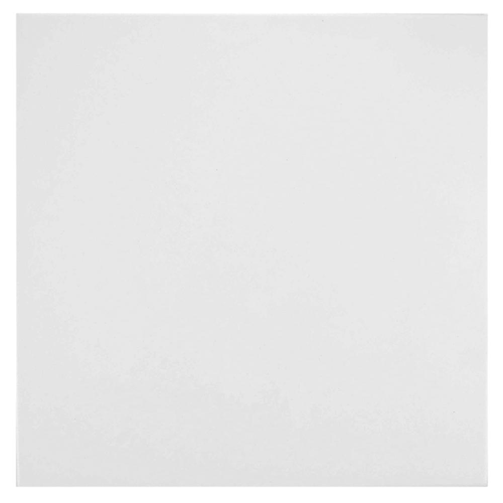 Merola Tile Lisse White 13 in. x 13 in. Porcelain Floor and Wall Tile (13.2 sq. ft. / case)