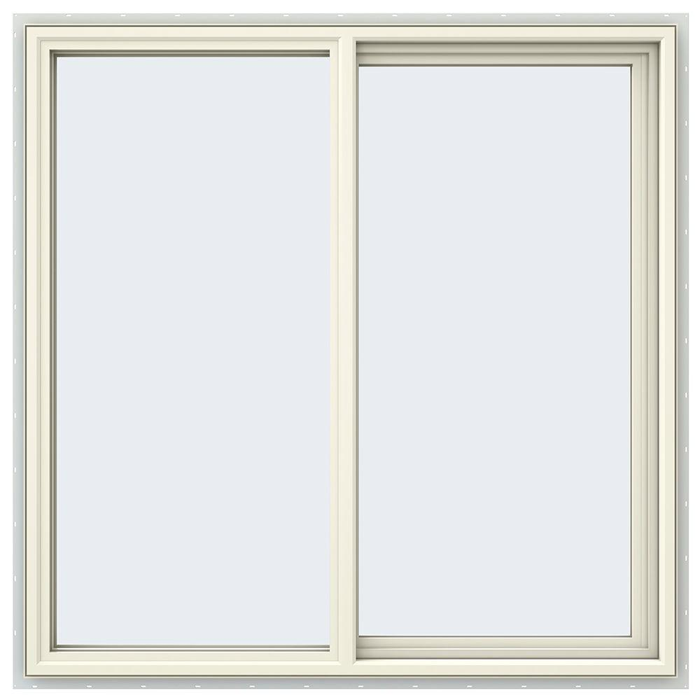 47.5 in. x 47.5 in. V-4500 Series Right-Hand Sliding Vinyl Window