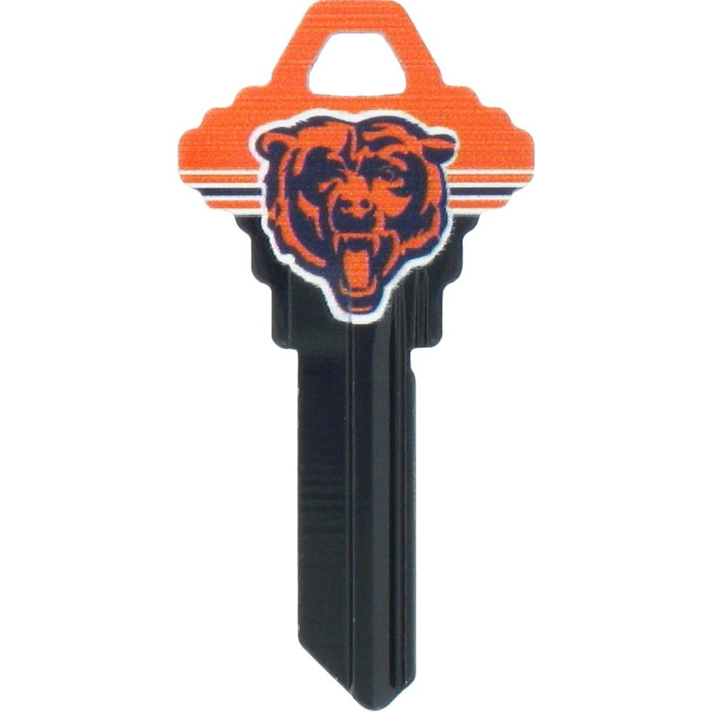 The Hillman Group  68 Chicago Bears House Key-89589 - The Home Depot 957aa4518