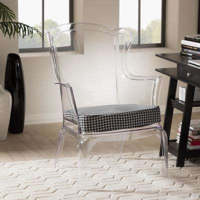 clear plastic furniture. Tasha Clear Finished Plastic Accent Chair Furniture
