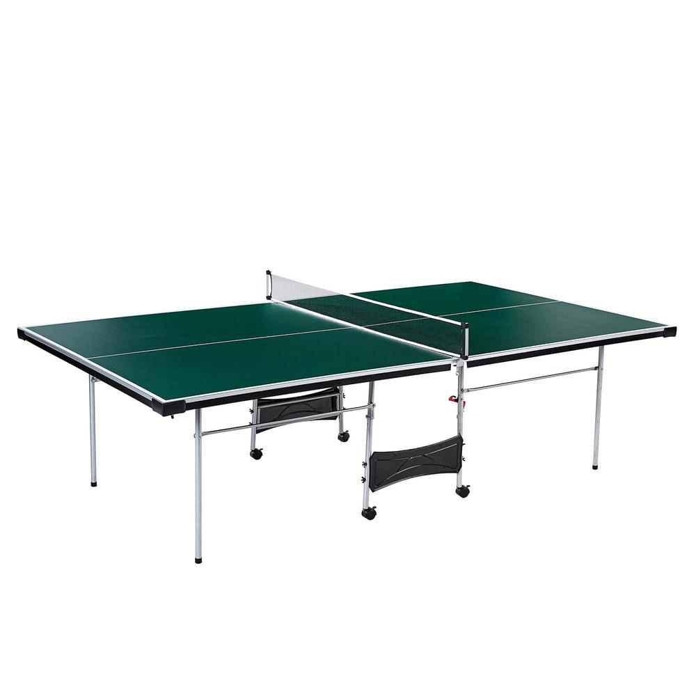 - Official Size Indoor Folding Table Tennis Ping Pong Game Table (4