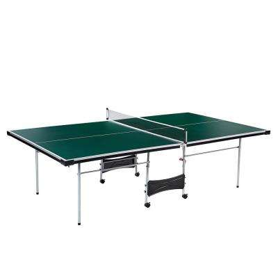 Official Size Indoor Folding Table Tennis Ping Pong Game Table (4-Piece)