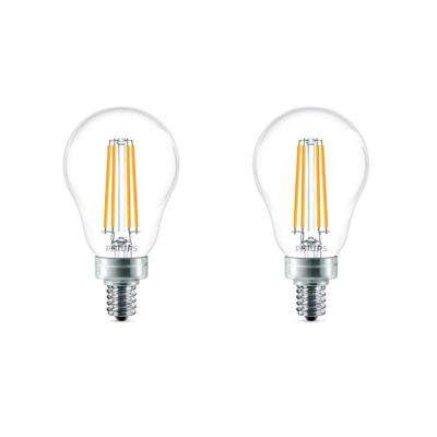 60-Watt Equivalent A15 Dimmable LED Light Bulb Soft White (2-Pack)