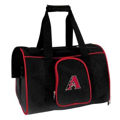 MLB Arizona Diamondbacks Pet Carrier Premium 16 in. Bag in Red