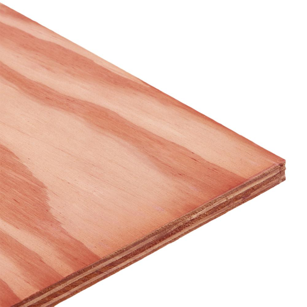 3/4 in  x 4 ft  x 8 ft  CDX Fire-Retardant Pressure-Treated Plywood