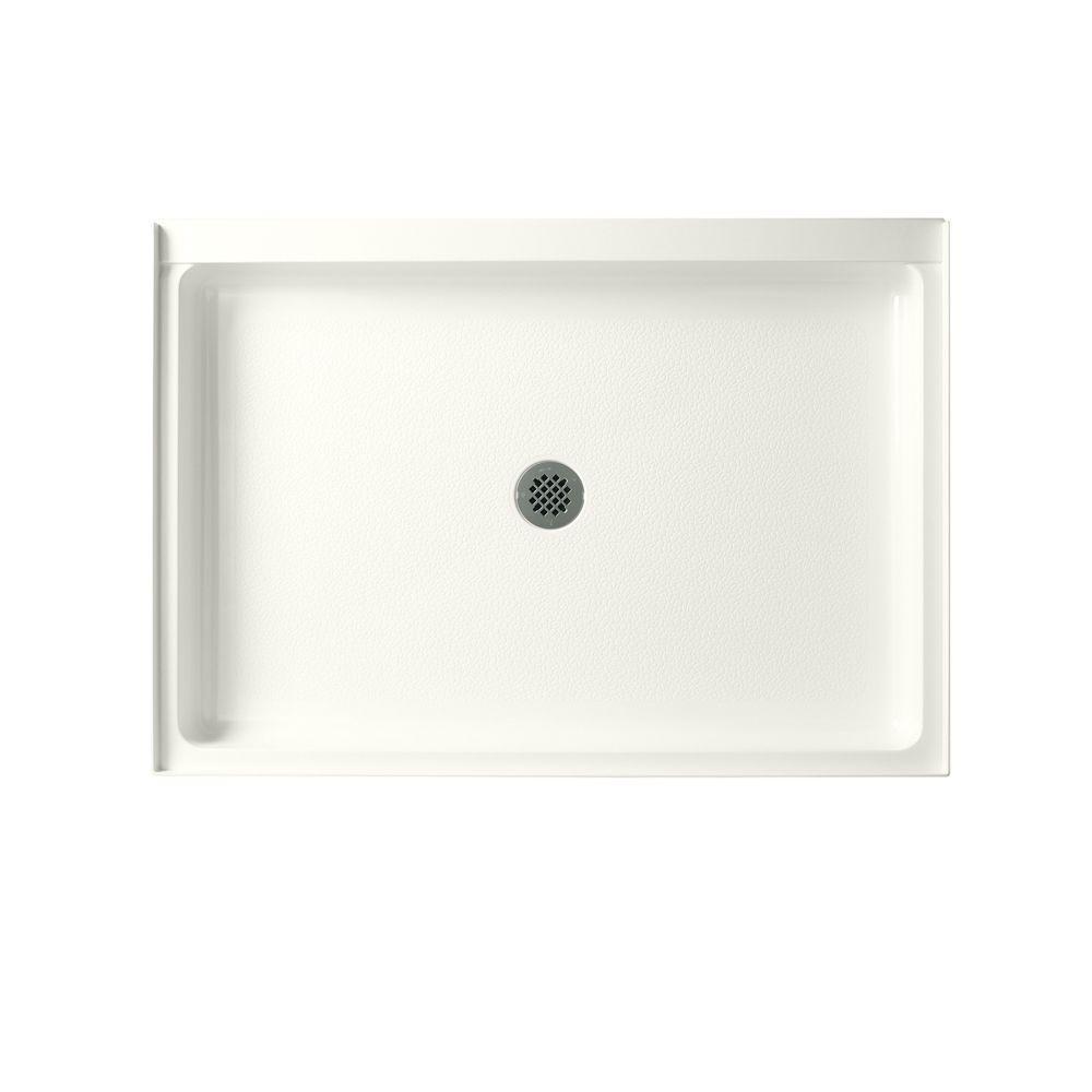Swan Veritek 34 in. x 48 in. Single Threshold Shower Floor in Bisque