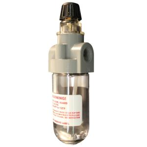 Milton Industries, Inc. 1/4 inch NPT Polycarbonate Mini Lubricator by Milton Industries, .