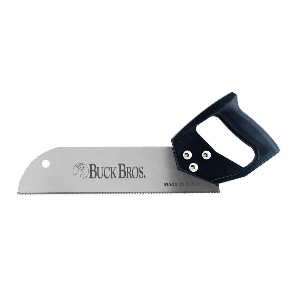 Buck Bros. 12 in. Tooth Saw with Plastic Handle