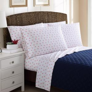 6-Piece Printed Palm Trees Full Sheet Sets by