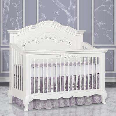 Aurora Frost 5-in-1 Convertible Crib