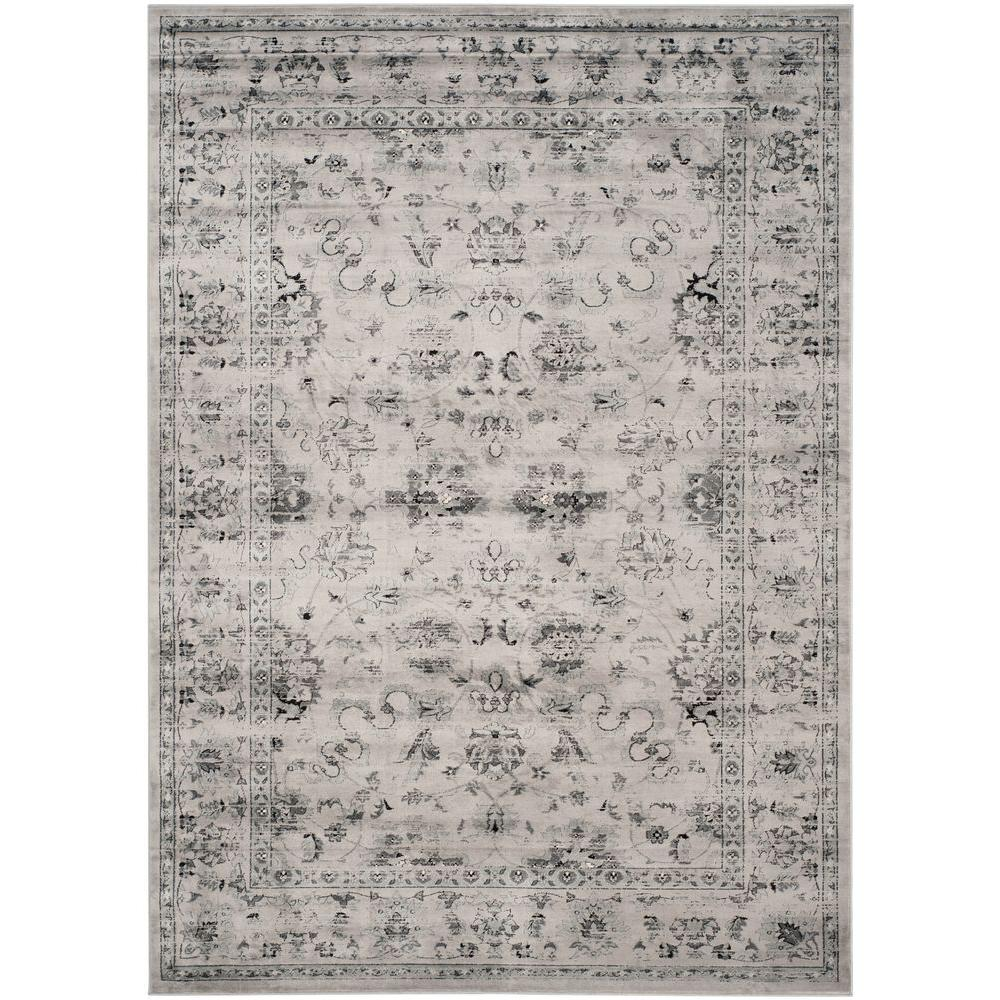 Safavieh Vintage Grey Ivory 10 Ft X 14 Ft Area Rug