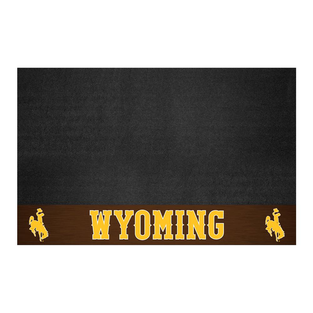 FANMATS NCAA 26 in. x 42 in. University of Wyoming Grill Mat