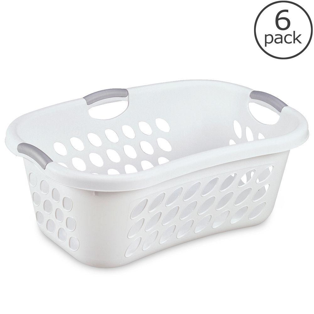 1.25 Bushel Ultra Hiphold Laundry Basket (6-Pack)