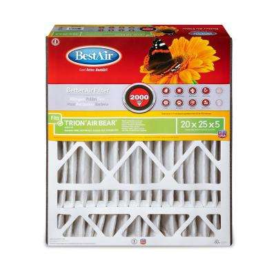 20 in. x 25 in. x 5 in. Trion Air Bear FPR 7 Air Cleaner Filter