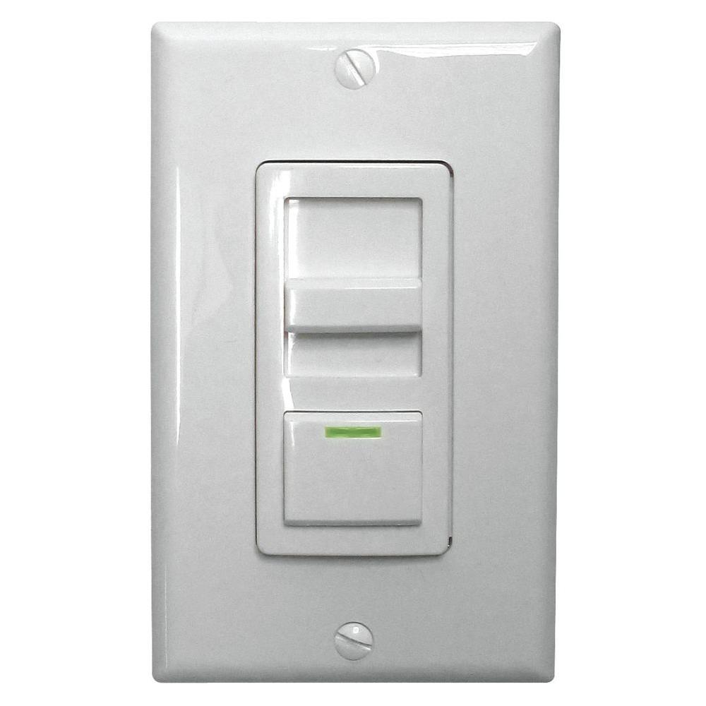 Lithonia Lighting LED Troffer Dimmer Switch-ISD BC 120/277 WH M10 ...