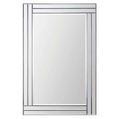 Baton Rouge 35 in. x 24 in. Framed Wall Mirror