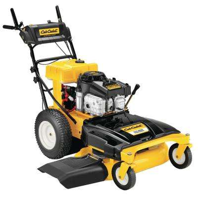 33 in. 382 cc Wide-Cut Gas Electric Start Walk Behind Self Propelled Lawn Mower