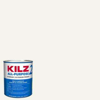 ALL PURPOSE 1 qt. White Interior/Exterior Multi-Surface Primer, Sealer, and Stain Blocker