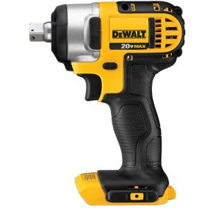Dewalt 20-Volt MAX Lithium-Ion Cordless 1/2 inch Impact Wrench Kit with Detent Pin (Tool-Only) by DEWALT