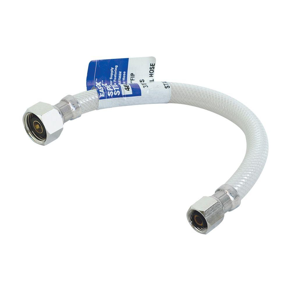 Eastman 1/2 in. x 3 ft. Flexible Reinforced PVC Faucet Connector