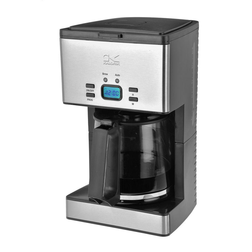 KALORIK 12-Cup Programmable Coffee Maker