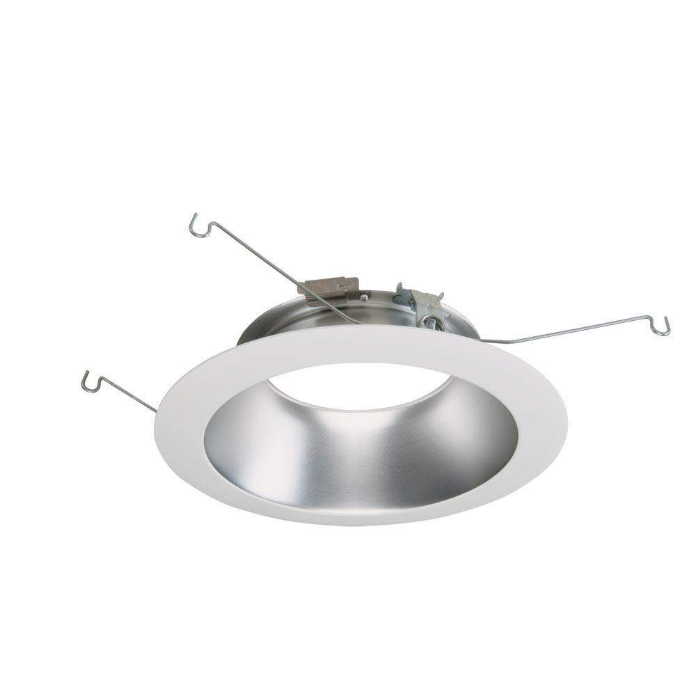 Halo ML 6 in. White Haze LED Recessed Ceiling Light Attachable ...