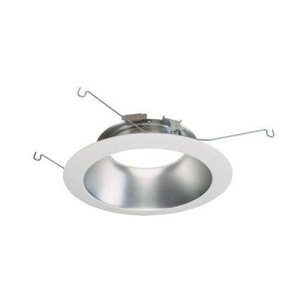 ML 6 in. White Haze LED Recessed Ceiling Light Attachable Module Trim