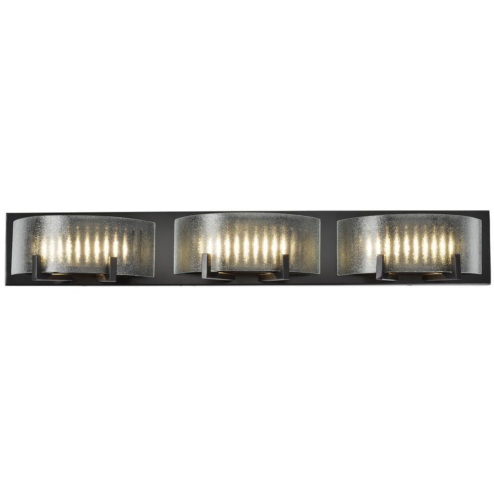 Rogue Decor Firefly 7-Watt Warm Bronze Integrated LED Bath Light