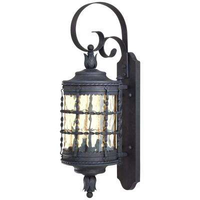 Mallorca 2-Light Spanish Iron Outdoor Wall Mount