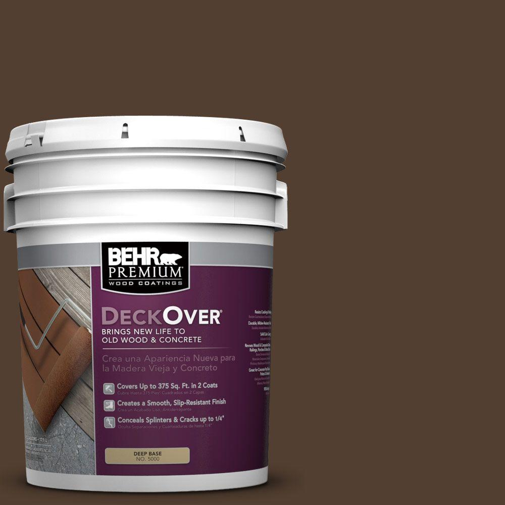 BEHR Premium DeckOver 5 gal. #SC-111 Wood Chip Wood and Concrete Coating