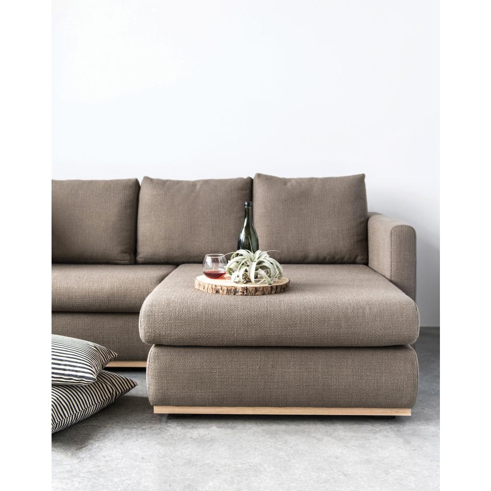 3r Studios Mushroom Grey Sofa With