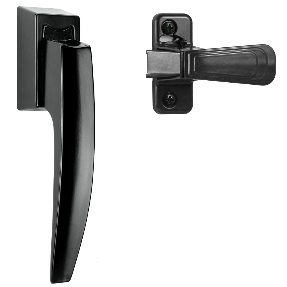 IDEAL Security Black Painted Pull Handle Set