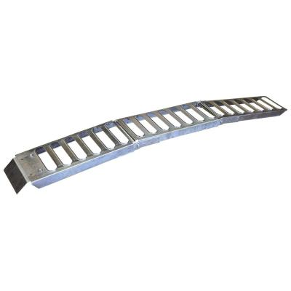 9 in. W x 72 in. L 500 lb. Capacity Steel Tri-Fold Ramp