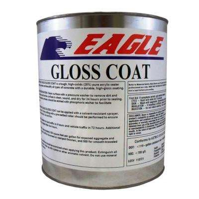 1 gal. Gloss Coat Clear Wet Look Solvent-Based Acrylic Concrete Sealer