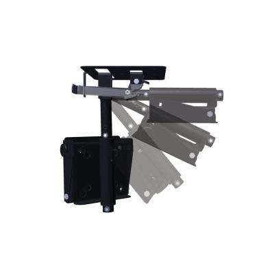 Flip Down and Swivel Ceiling TV Mount