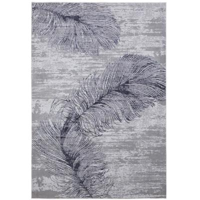 Kenmare Alice Gray 7 ft. 9 in. x 10 ft. 2 in. Indoor Area Rug