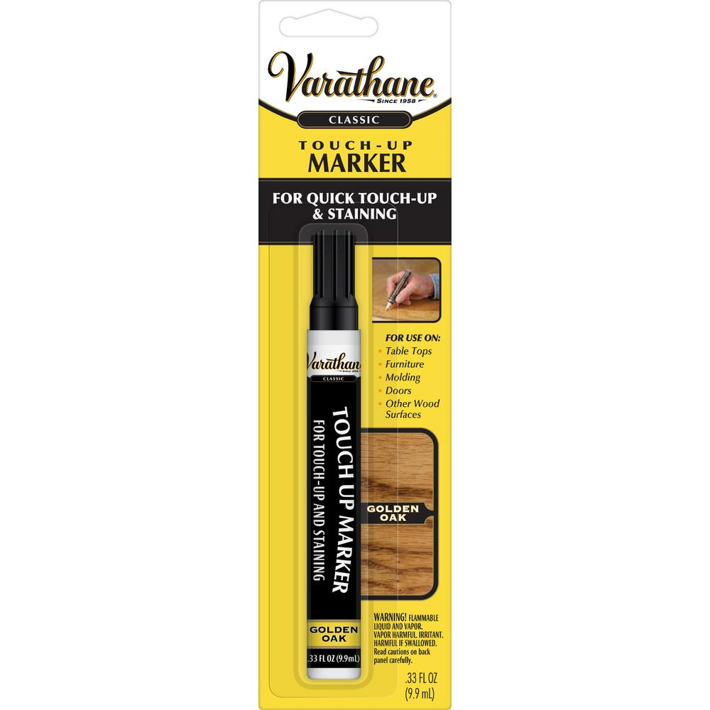 Varathane 1 3 Oz Golden Oak Wood Stain Touch Up Marker