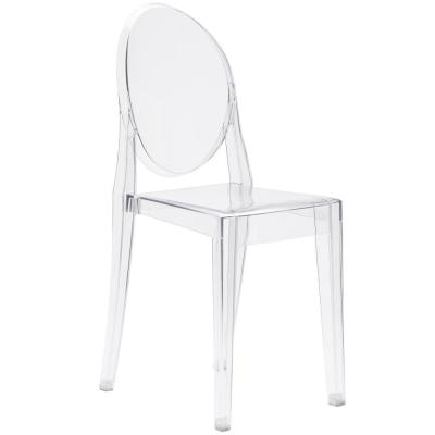 Burton Clear Side Chair