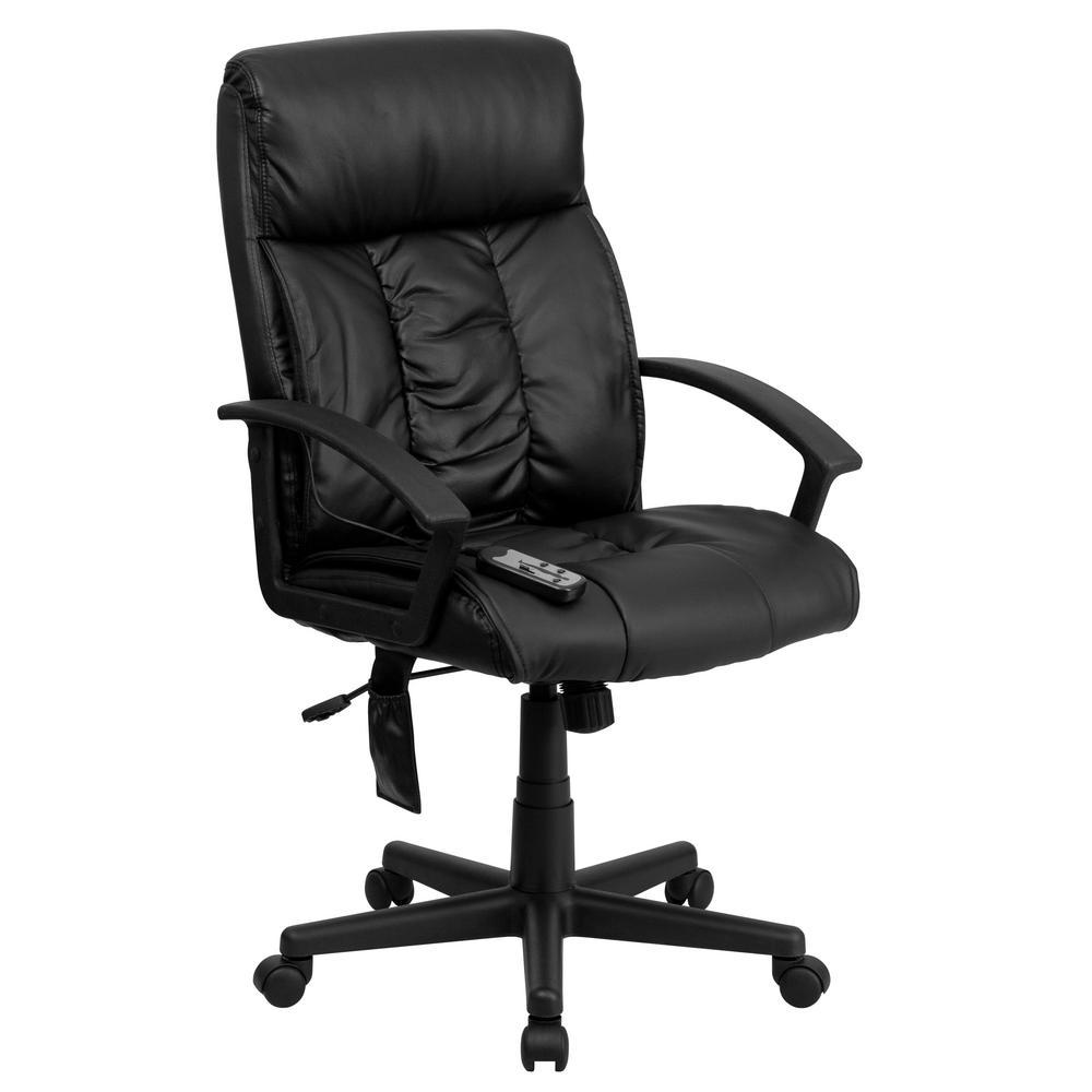Flash Furniture Black Office/Desk Chair CGA-BT-9196-BL-HD