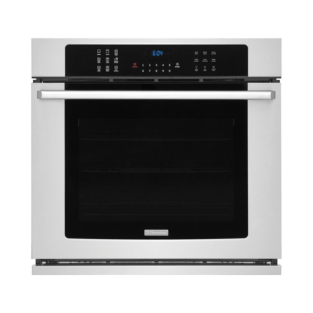 30 in. 5.1 cu. ft. Single Electric Wall Oven with Air