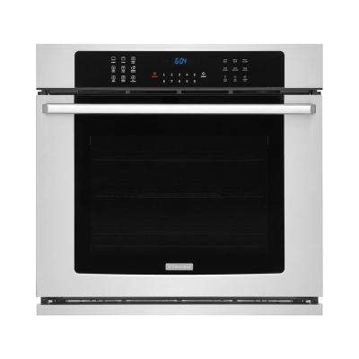 30 in. 5.1 cu. ft. Single Electric Wall Oven with Air Sous Vide Convection in Stainless Steel