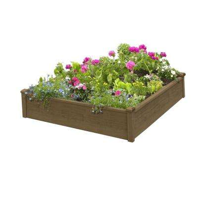 4 ft. x 4 ft. x 12 in. Raised Garden Bed