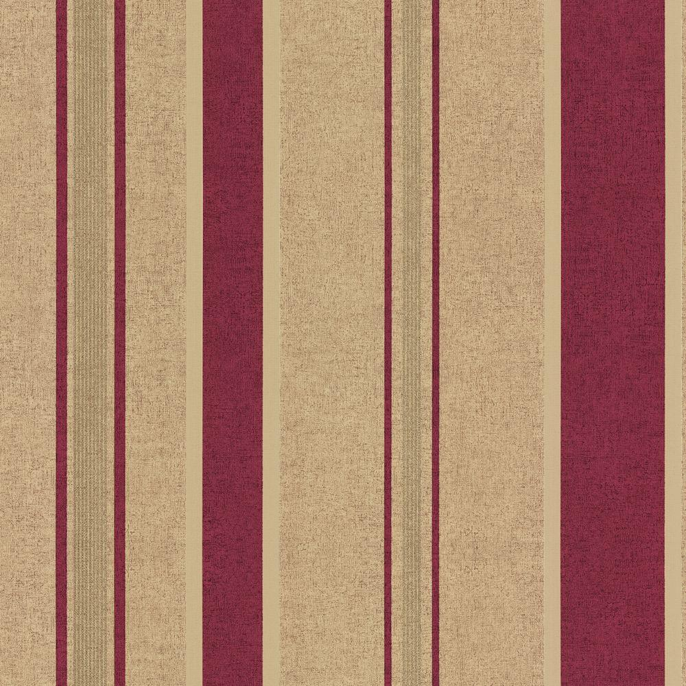 The Wallpaper Company 56 sq. ft. Kynzo Stripe Wallpaper