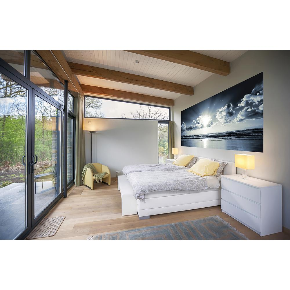 Brewster abstract triangles wall mural wr50526 the home depot tranquility panoramic wall mural amipublicfo Gallery