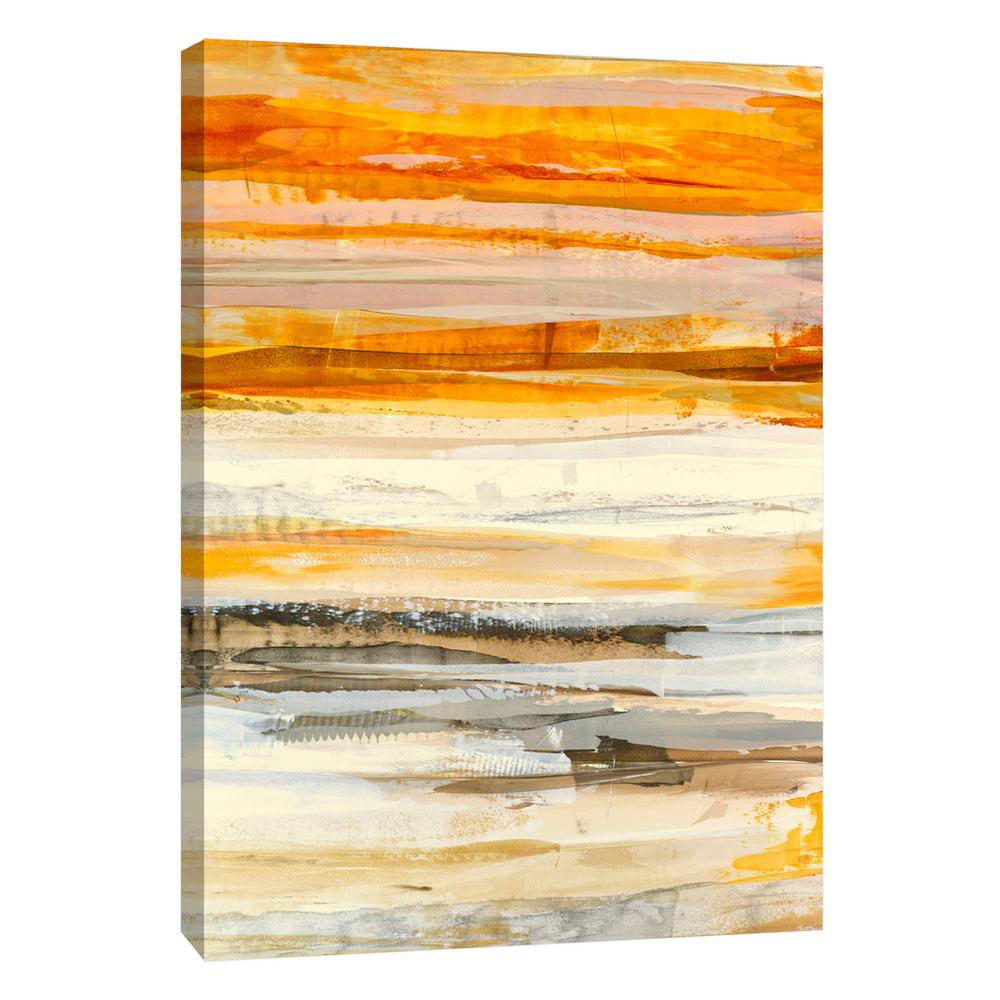 PTM Images 12.in x 10.in \'\'Sun Dream 4\'\' Printed Canvas Wall Art-9 ...