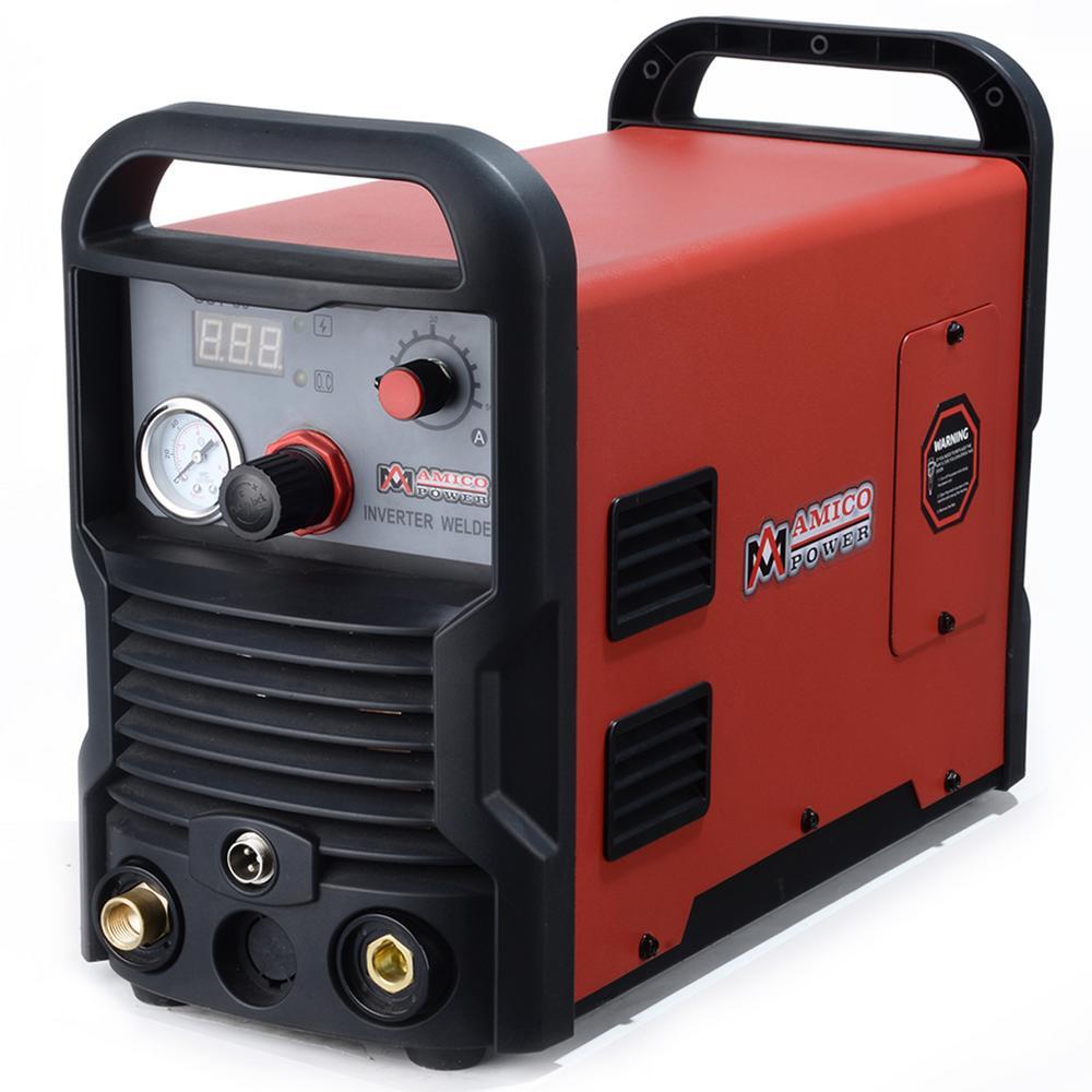 50 Amp Plasma Cutter Colossal Tech. 3/4 in. Clean Cut 110/230-Volt Compatible DC Inverter Cutting Machine