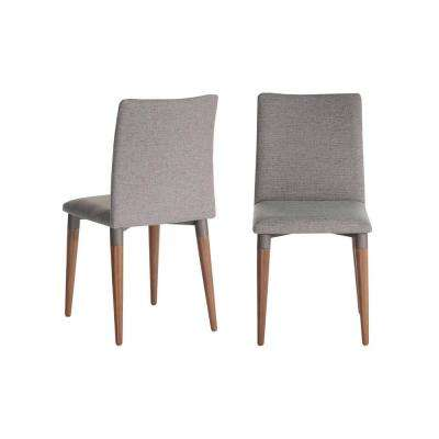 Charles 2-Piece Grey Dining Chair