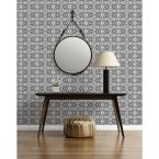 Mitchell Black ABRA Collection Fusion Before Removable and Repositionable Wallpaper